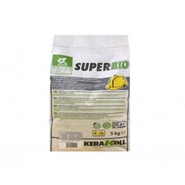 Super Bio 5 kg grigio Kerakoll colla in polvere per la posa di piastrelle ceramiche in monocottura o bicottura
