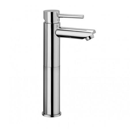 Miscelatore lavabo prolungato Paffoni serie Stick senza scarico cromato SK071HCR120