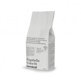 Fugabella Color 01 bianco 3kg 15528 Kerakoll Stucco per fughe