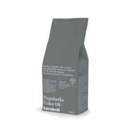 Fugabella Color 08 grigio ferro 3kg 15542 Kerakoll Stucco per fughe