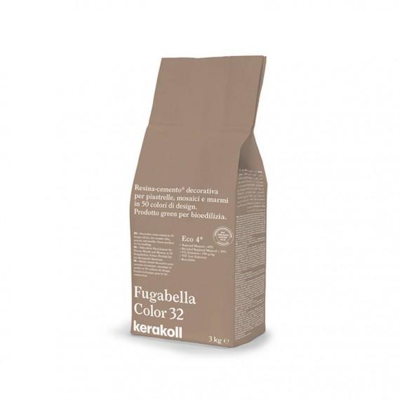 Fugabella Color 32 caramel 3kg 15592 Kerakoll Stucco per fughe