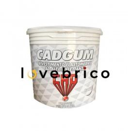 Cad Gum 20 kg bianco Guaina liquida ad alta riflettanza per impermeabilizzazioni
