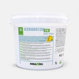 Keradecor Eco Activ Paint Bianco Kerakoll Pittura Sanificante, Traspirante E Antimuffa