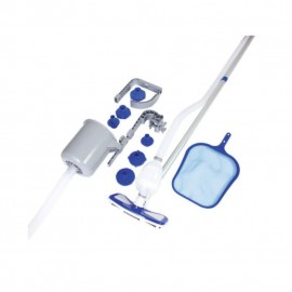 Skimmer Bestway Kit Manutenzione Piscina Flowclear Deluxe Con Aspiratore 58237
