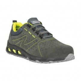 Scarpa Antinfortunistica Cofra Mod. Unit S1 P SRC Antracite/Verde Green Fit