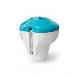 Distributore galleggiante di cloro con termometro Intex