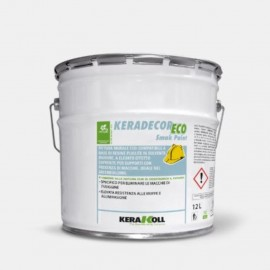 Keradecor Eco Smak Paint Bianco 4 Lt Kerakoll Pittura Antimacchia, Antifumo e Antimuffa