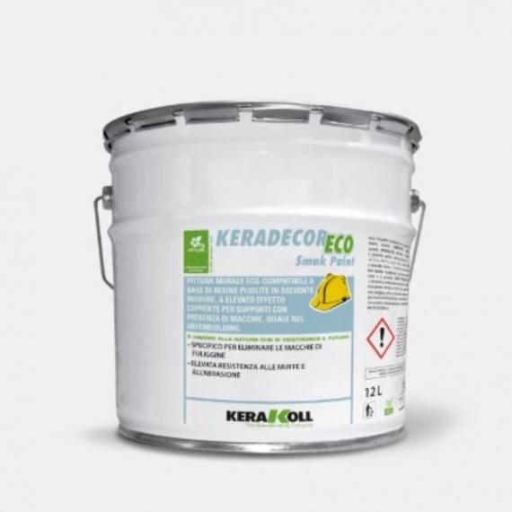 Keradecor Eco Smak Paint Bianco 4 Lt Kerakoll Pittura ...