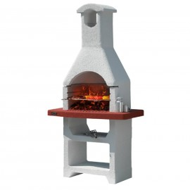 Barbecue A Carbonella In Refrattario 108 x 59 x h 211 Cm Cayman Sunday