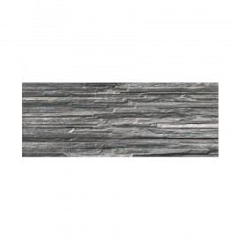 Rivestimento grès porcellanato 16 x 42 cm effetto grafite Piana Grafite