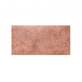 Piastrella grès porcellanato 15 x 30 cm effetto travertino Monumenti Rosso 1605 Ceramiche San Nicola