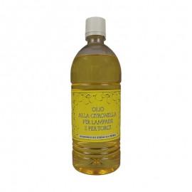 Olio alla citronella per torce e lampade 1 lt
