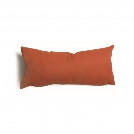 Cuscino rettangolare da salotto 30x60 cm Tulipano Ruggine