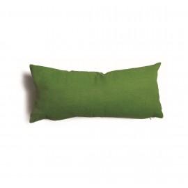 Cuscino rettangolare da salotto 30x60 cm Tulipano Verde