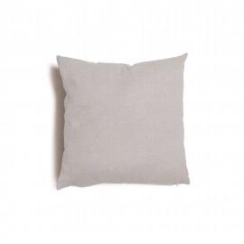 Cuscino quadrato da salotto 43x43 cm Tulipano Grigio