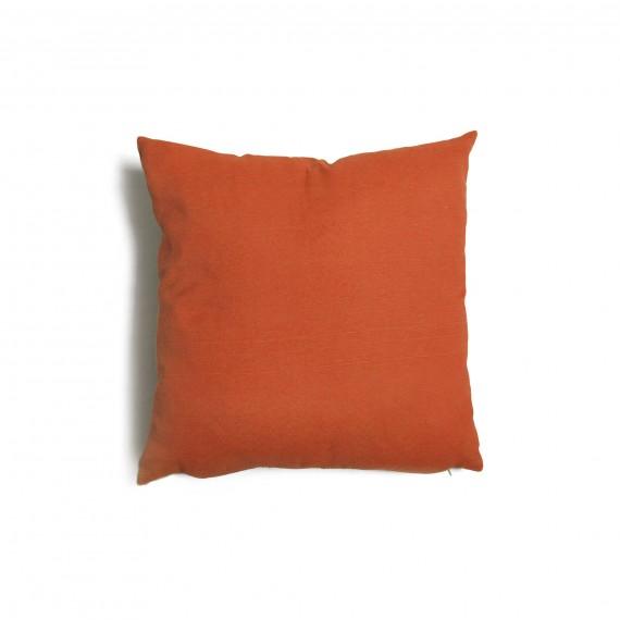 Cuscino quadrato da salotto 43x43 cm Tulipano Ruggine