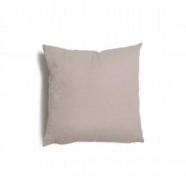 Cuscino quadrato da salotto 43x43 cm Tulipano Tortora