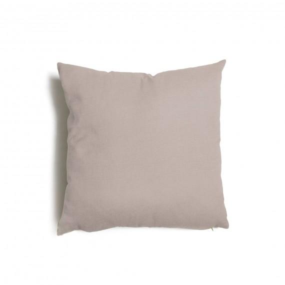 Cuscino quadrato da salotto 57x57 cm Tulipano Tortora