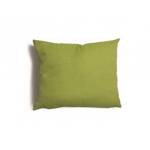 Cuscino quadrato da salotto 57x57 cm Tulipano Verde