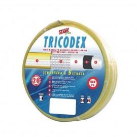 """Tubo irrigazione retinato 6 strati 12 mm (1/2"""") x 50 mt Tricodex Stars"""
