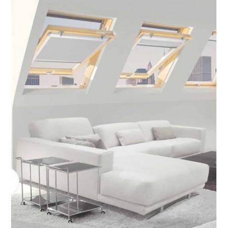 Finestra per mansarda L 55 x H 98 Claus serie Style con apertura a bilico FS 0313