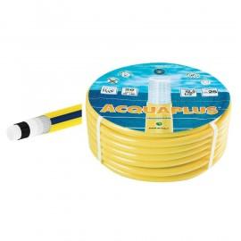 """Tubo irrigazione retinato 6 strati 12 mm (1/2"""") x 15 mt giallo Acqua Plus"""