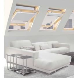 Finestra per mansarda L 66 x H 118 Claus serie Style con apertura a bilico FS 0413