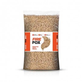 Bancale 65 sacchi da 15 kg Pellet di legno 100% abete EN PLUS A1 Fire Fox