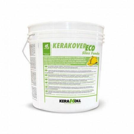Kerakoll Kerakover Eco Silox Fondo 14 lt 24581 bianco Fondo intermedio per pittura