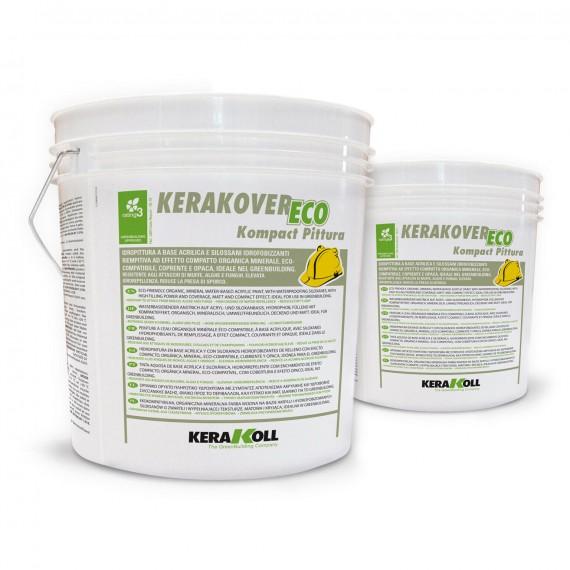 Idropittura a base acrilica Kerakoll Kerakover Eco Kompact ...