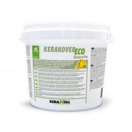 Idropittura al quarzo Kerakoll Kerakover Eco Quarzite 14 lt 20257 bianco