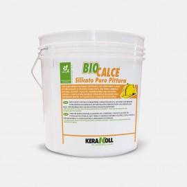 Pittura a base di puro silicato Kerakoll Biocalce Silicato Puro Pittura 4 lt 12816 bianco