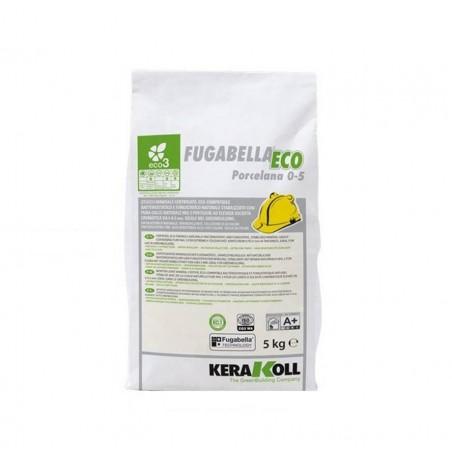 Fugabella Eco 0-5 bianco 02 5 kg Kerakoll Stucco per fughe