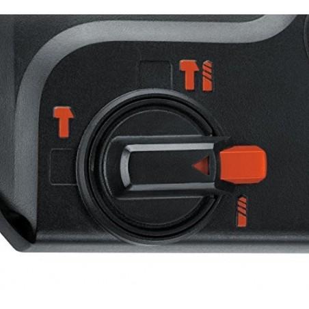 Martello tassellatore e scalpellatore 550W – 1,6 J Black and Decker KD885KC-QS