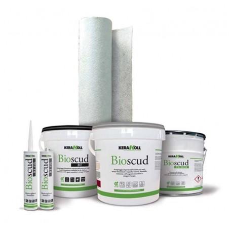 Bioscud 20 kg grigio Kerakoll Antipioggia impermeabilizzante per impermeabilizzazioni e/o incapsulamento amianto