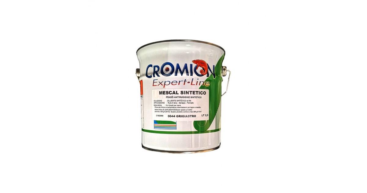 Fondo antiruggine per metallo 2,5 lt grigiastro Pozzi Mescal Rapid