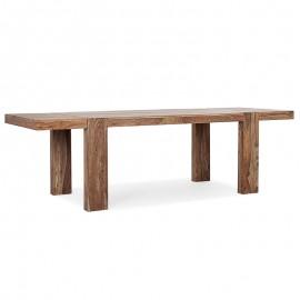 Tavolo allungabile da pranzo rettangolare in legno 175-265x90 cm Sunderland Bizzotto