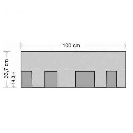 Tegola bituminosa Tegola canadese Master 2 mq 22550100011040 cotto antico