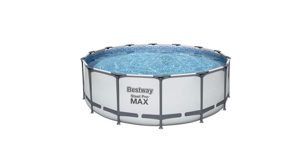 Piscina montabile rotonda 427x122 cm Bestway Steel Pro Max 5612x