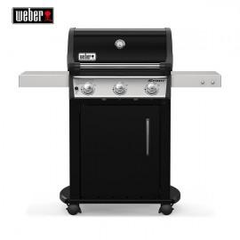 Weber Spirit E-315 Barbecue a gas con mobiletto chiuso e griglia GBS in ghisa