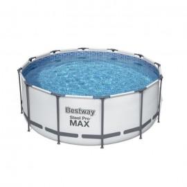 Piscina fuori terra rotonda ø 3,66x1,22 mt con pompa Steel Pro MAX Bestway