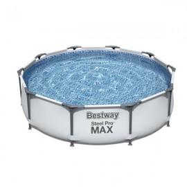 Piscina da giardino rotonda 305x76 cm Bestway Steel Pro Max 56408