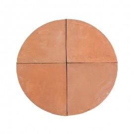Suolo per forno tondo tipologia biscotto di sorrento 130 x 5 cm