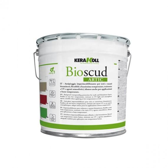 Bioscud Artic grigio 20 kg Kerakoll Impermeabilizzante liquido basse temperature antipioggia