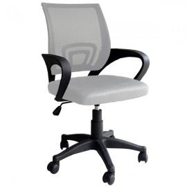 Poltrona girevole ergonomica per scrivania arredo ufficio Genius Sabbia