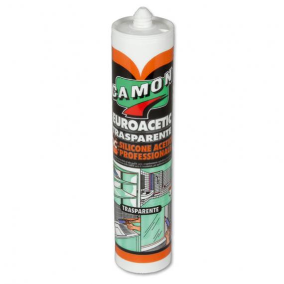 Silicone acetico professionale Camon EUROACETIC 310 ml 120300 trasparente