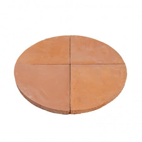 Suolo per forno tondo tipologia biscotto di sorrento 80 x 5 cm