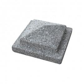 Copripilastro A Piramide Brecciato Grigio 30x30 Cm Quadrato Bardiglio Bonfante