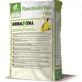 Intonachino di finitura Kerakoll Rasobuild Eco Fino 25 kg 01847 bianco