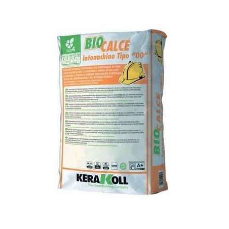 """Rasante Kerakoll Biocalce Intonachino Tipo""""00"""" 20 kg 12046"""